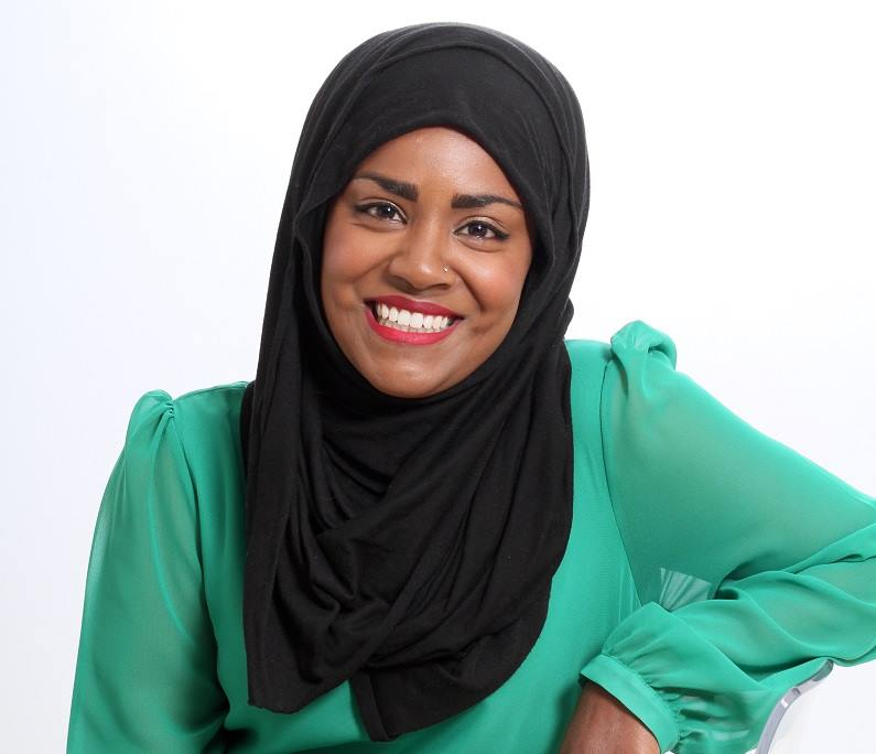 Nadiya Hussain - Winner of the Great British Bake Off visits the Festival